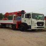 Hyundai HD320 Gắn Cẩu Kanglim 10 Tấn KS2605
