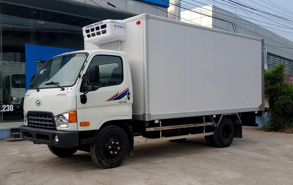Hyundai HD700 Thùng Đông Lạnh