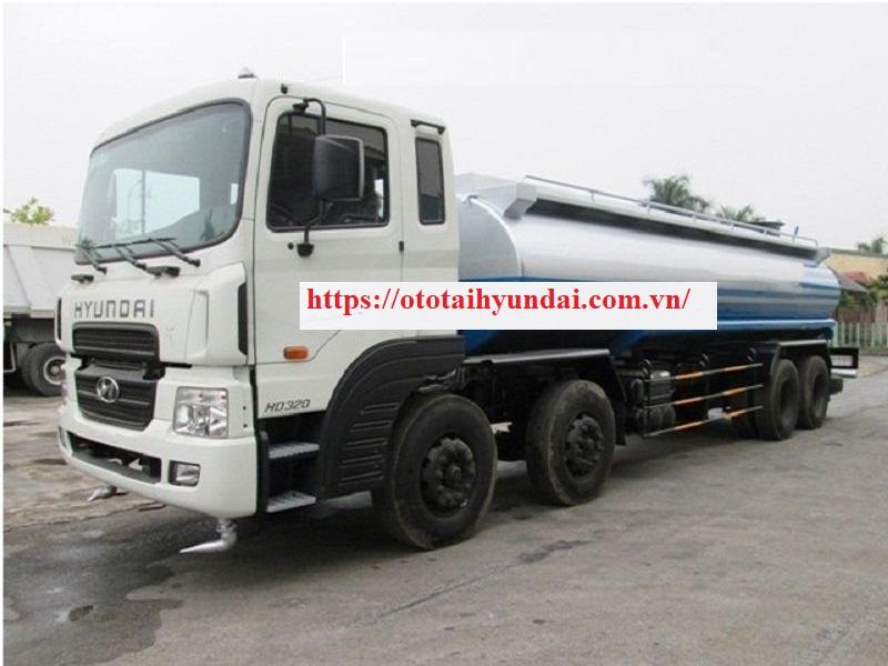 Hyundai HD320 Phun Nước Rửa Đường