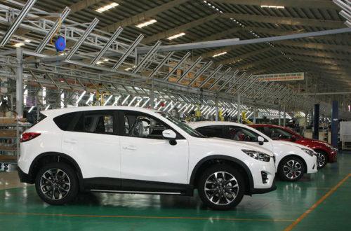 Nhà máy Mazda lớn nhất Đông Nam Á chuẩn bị khánh thành