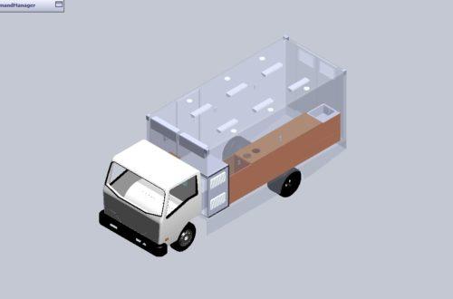 Ứng dụng công nghệ mới 3D trong thiết kế xe phẫu thuật lưu động