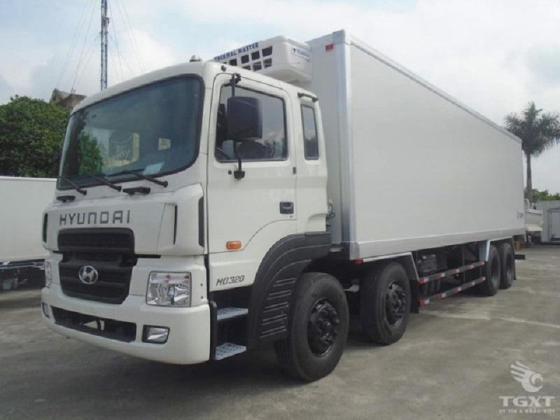 Hyundai HD320 Thùng Đông Lạnh