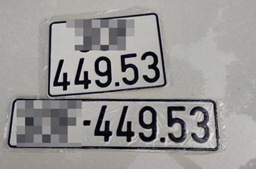 Biển số 49 53 là gì mà ai cũng sợ đến bán cả xe khi bấm phải?