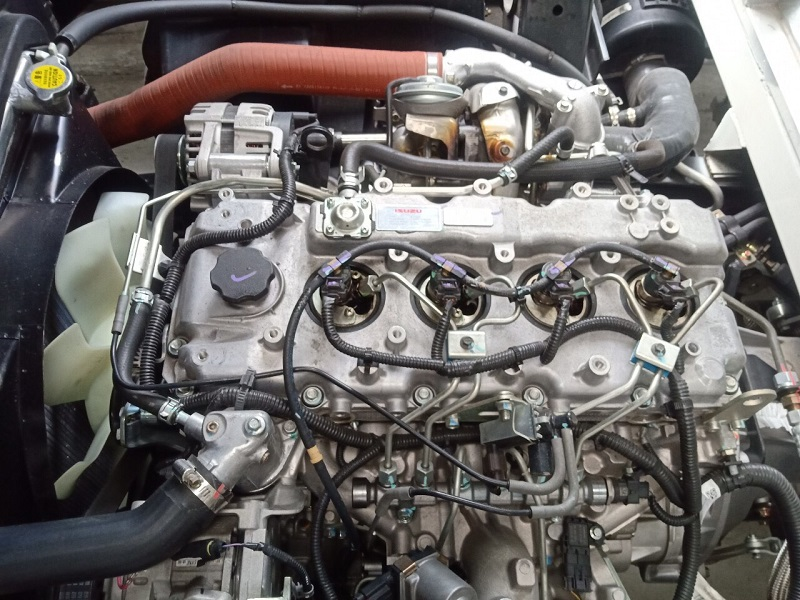 động cơ Đô Thành IZ650 Thùng bạt