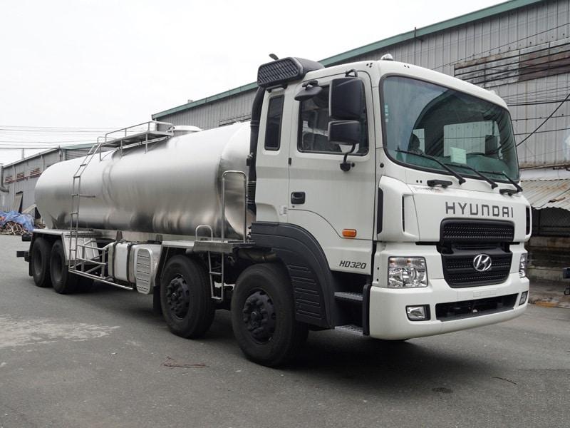 HYUNDAI HD320 XI TÉC CHỞ SỮA 16m3
