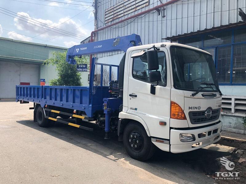 HINO FC9JLTC Gắn Cẩu TADANO model TM-ZE305MH